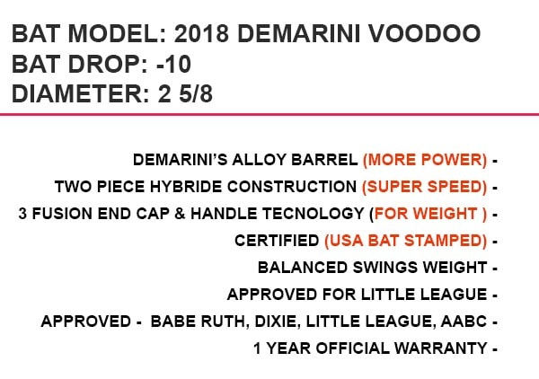 2018 DEMARINI VOODOO review