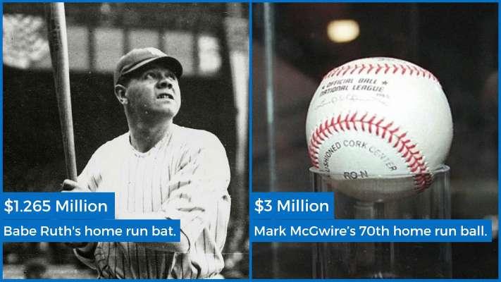 Expensive Baseball Memorabilia